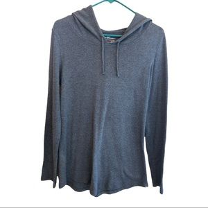 Edie Bauer Cotton Hoodie Pull Over EUC